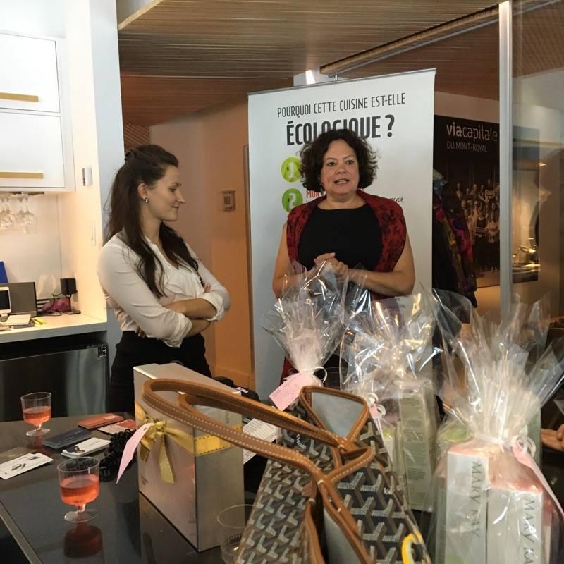 Le 5@8 éco-fashion et réseautage d'affaires du Plateau