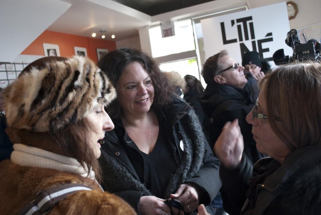 Nathalie Clément et Pierrette Robitalle