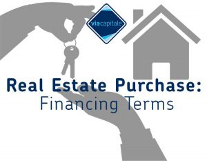 Real-Estate-Purchase-Financing-Terms
