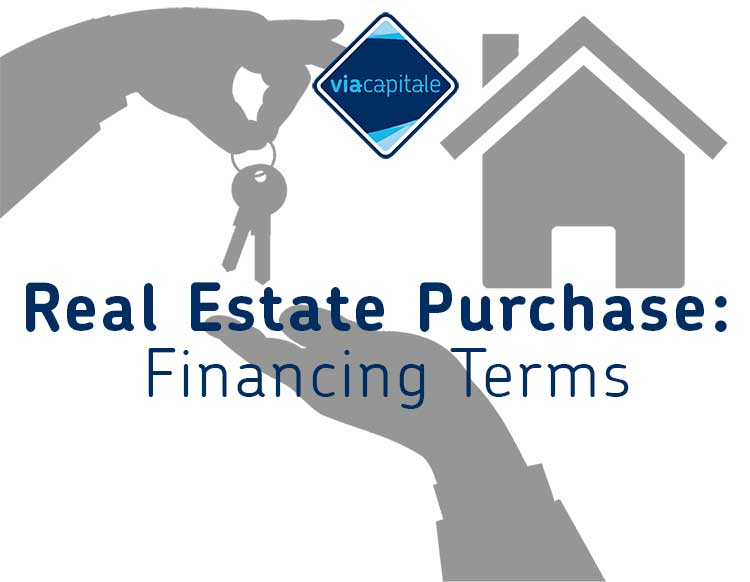 Real Estate Purchase: Financing Terms