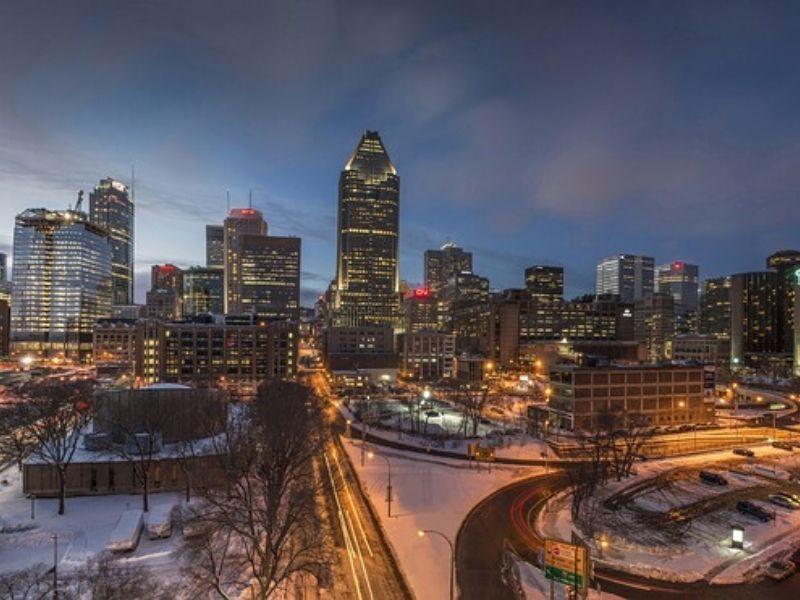 Magnifique photo de la ville de Québec
