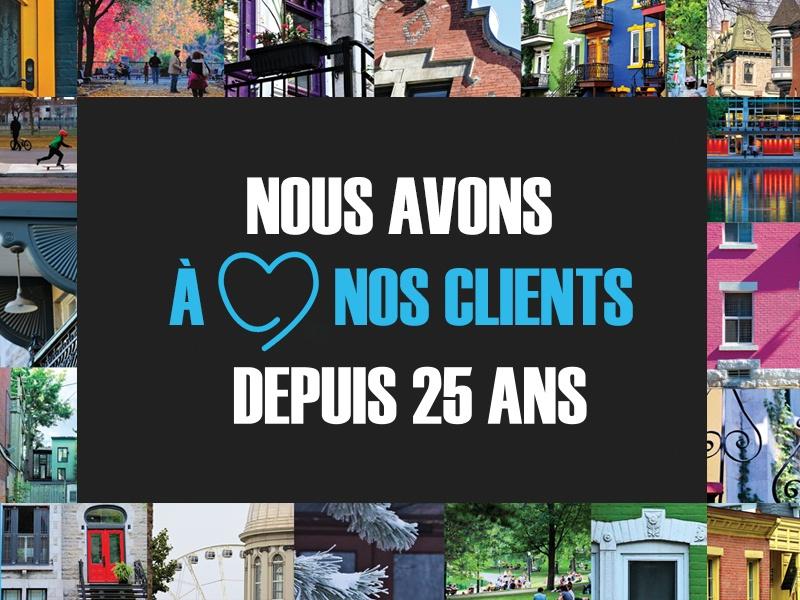 Les 25 ans de notre agence