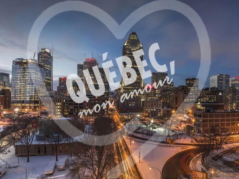 """Photo de Québec ayant pour titre """"Québec, mon amour"""""""