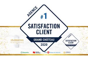 Prix Satisfaction Client pour l'agence Via Capitale du Mont-Royal 2020