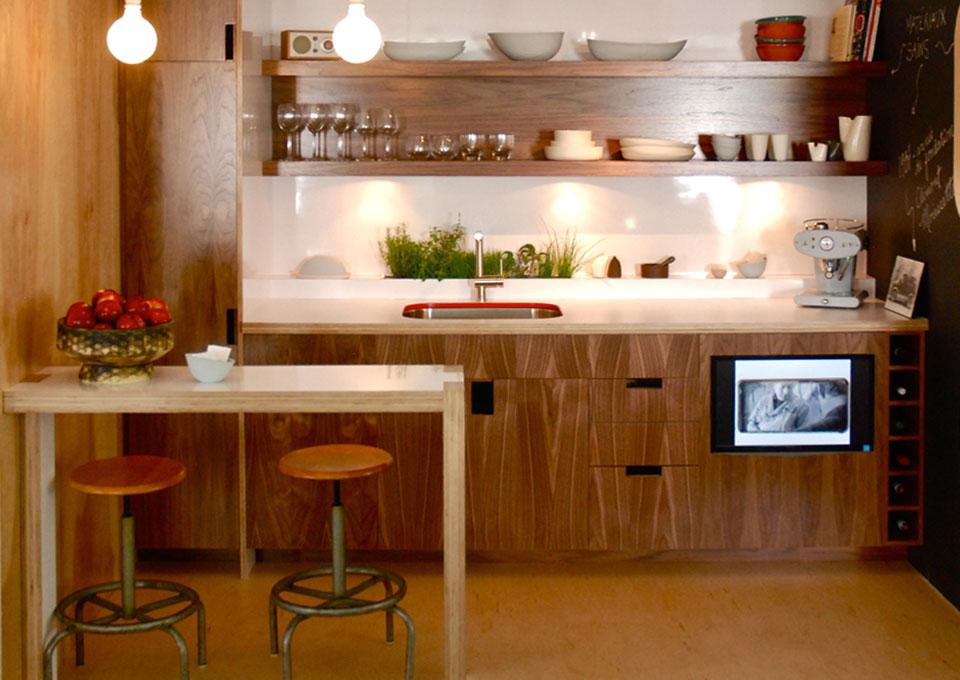 cuisine compacte petit espace 01 via capitale du mont royal. Black Bedroom Furniture Sets. Home Design Ideas